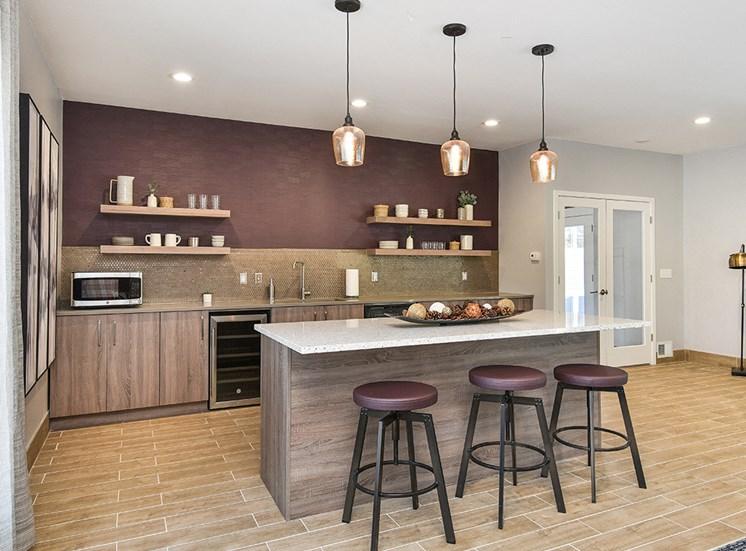 Pines of Burnsville - Clubhouse Kitchen