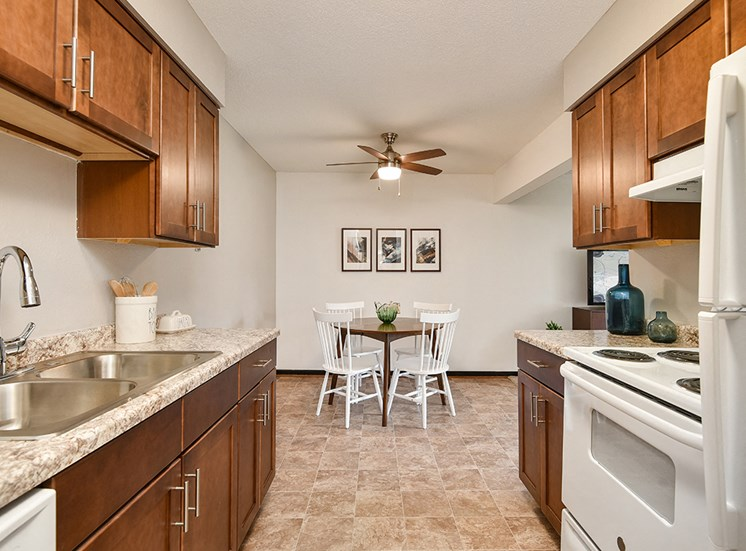 The Pines of Burnsville - Kitchen and Dining Room