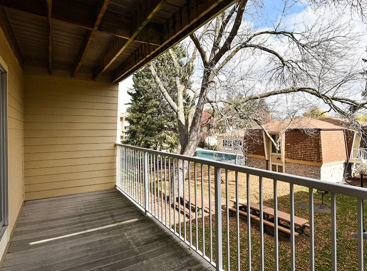 The Pines of Burnsville - Patio/Deck