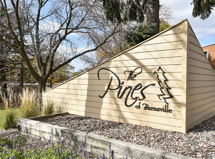 The Pines of Burnsville - Signage