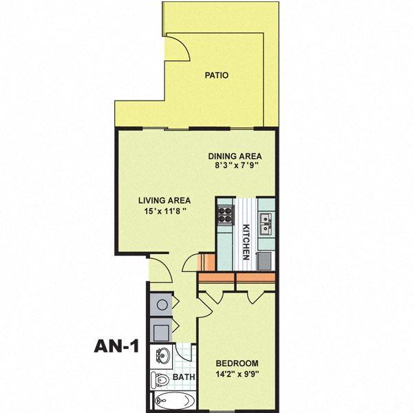 Deluxe One Bedroom (AN1)