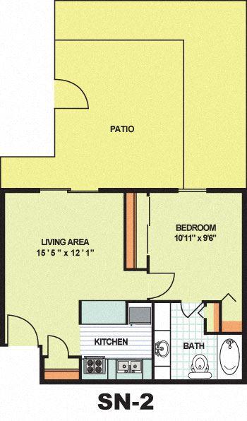 Standard One Bedroom (SN2)