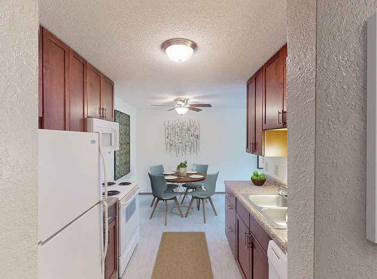 Candlewood Apartments - Kitchen and Dining Room