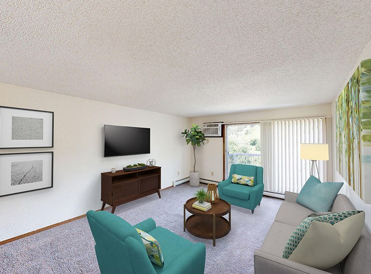 Candlewood Apartments - Living Room