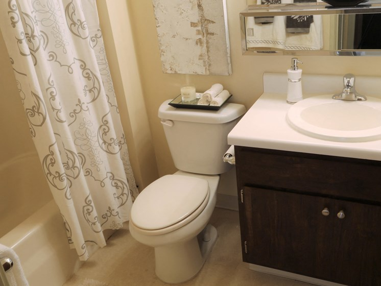 Oversized Soaking Tubs at Willowood Apartments, Eastlake, 44095
