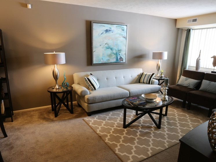 Comfortable Living Room at Willowood Apartments, Eastlake, 44095