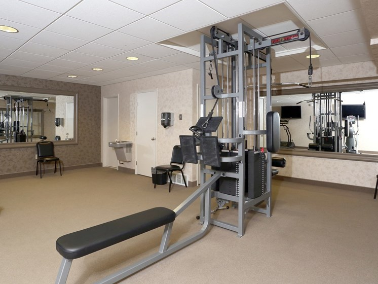 High Endurance Fitness Center at Ridgewood Park Apartments, Parma Heights, OH