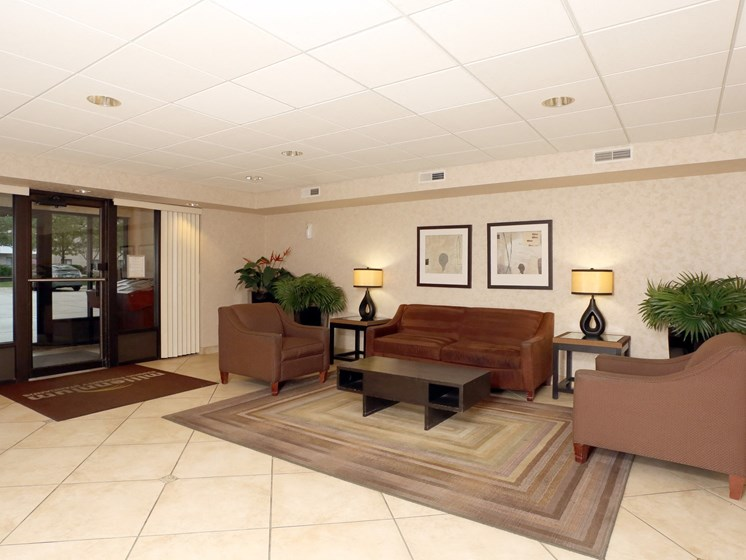 Lobby Area at Ridgewood Park Apartments, Parma Heights, 44130