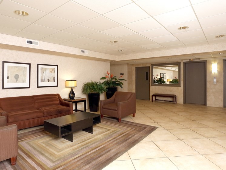 Picturesque Lobby Area at Ridgewood Park Apartments, Parma Heights, Ohio