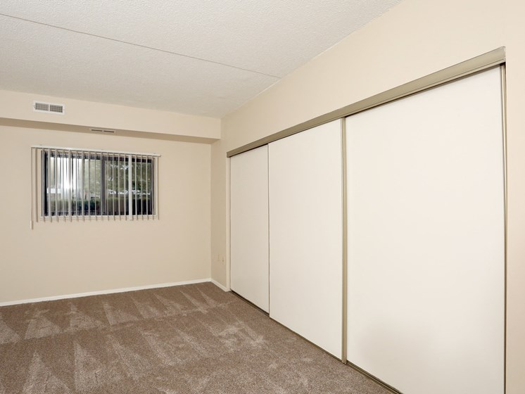 Large Closets In Bedrooms at Ridgewood Park Apartments, Parma Heights, OH, 44130