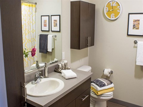 Seattle Apartments - Canvas Apartments - Bathroom