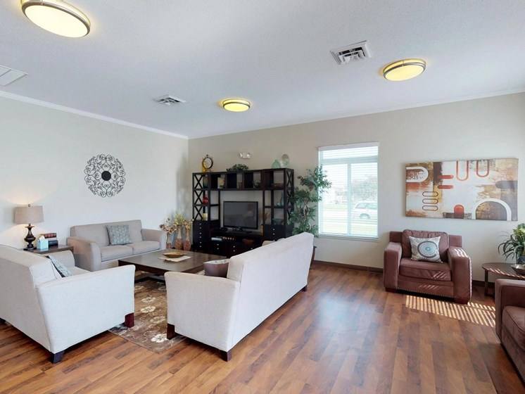 Natural light at The Arbors Apartments in South Sioux City, Nebraska