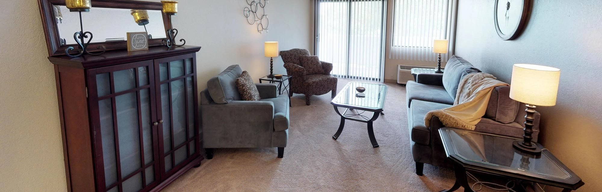 Furnished apartment at Ridge Oaks Apartments in North Sioux City, Iowa