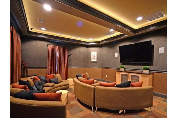 Fenwyck Manor Apartments Chesapeake, VA 23320 media and theater lounge