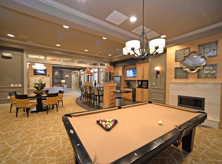 Fenwyck Manor Apartment Homes Chesapeake, Greenbrier VA 23320 billiard table