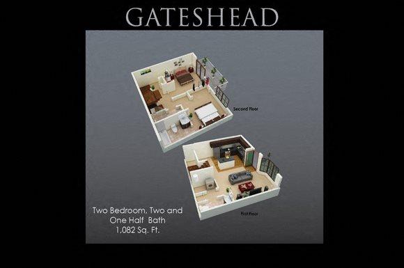 Fenwyck Manor Apartments Chesapeake, VA 23320 gateshead floor plan