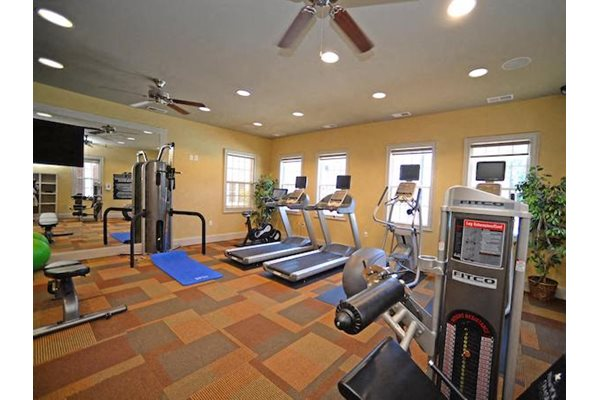 Fenwyck Manor Apartments Chesapeake, VA 23320 24-hour fitness center with cardio and weight equipment