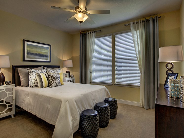 Lake Nona Water Mark Apartments in Lake Nona in ORLANDO, FL 32827 bedrooms with plush environmentally friendly carpet