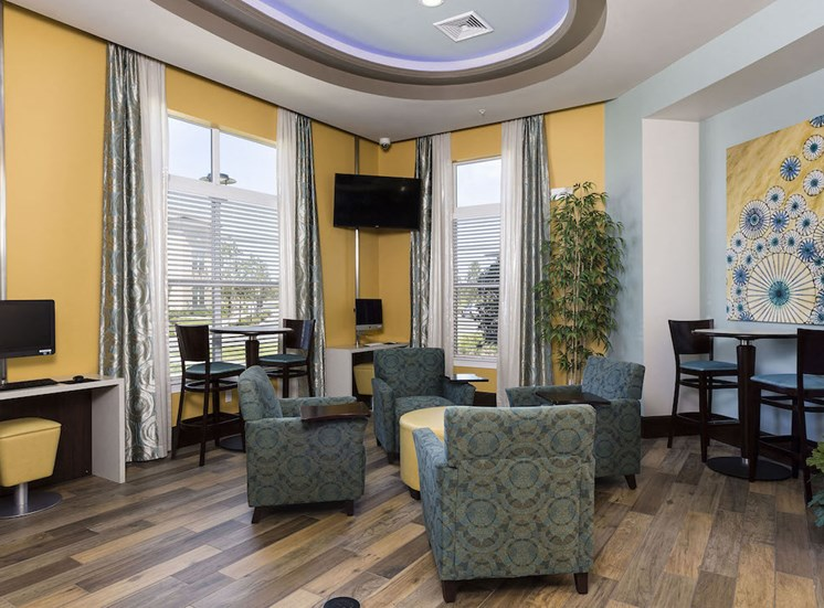 Lake Nona Water Mark Apartments in Lake Nona in ORLANDO, FL 32827 business center and cyber cafe