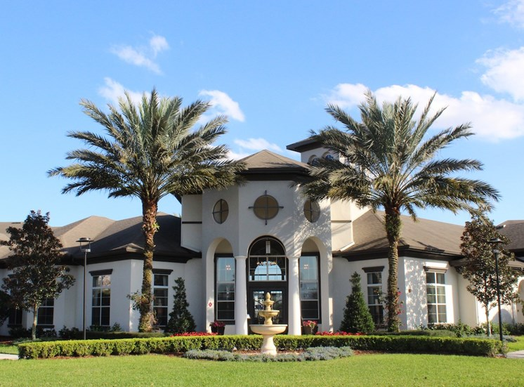 Lake Nona Water Mark Apartments Clubhouse and Leasing Office Facade