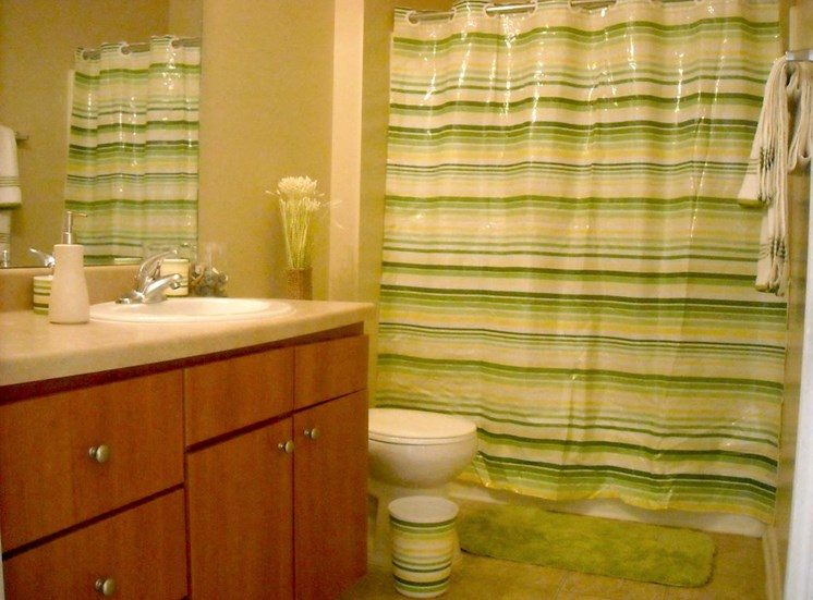 bathroom in lumpkin park apartment home