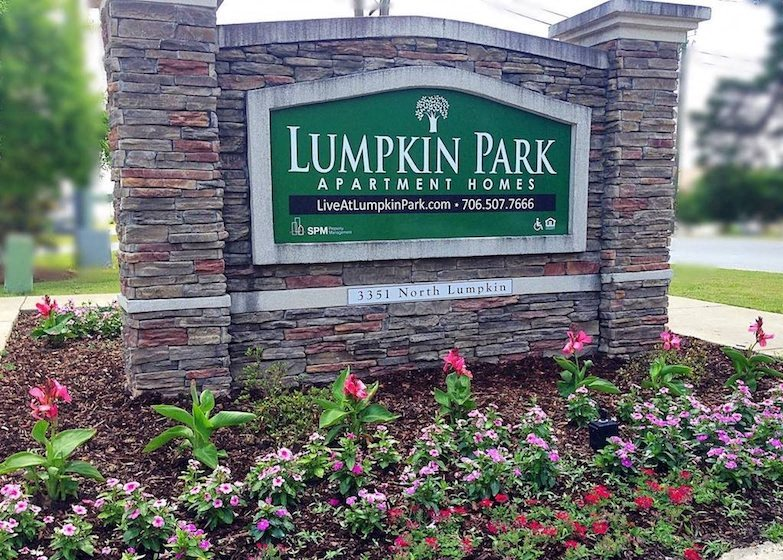 Lumpkin Park Apartments Columbus Muscogee Georgia 31903 Entrance Sign