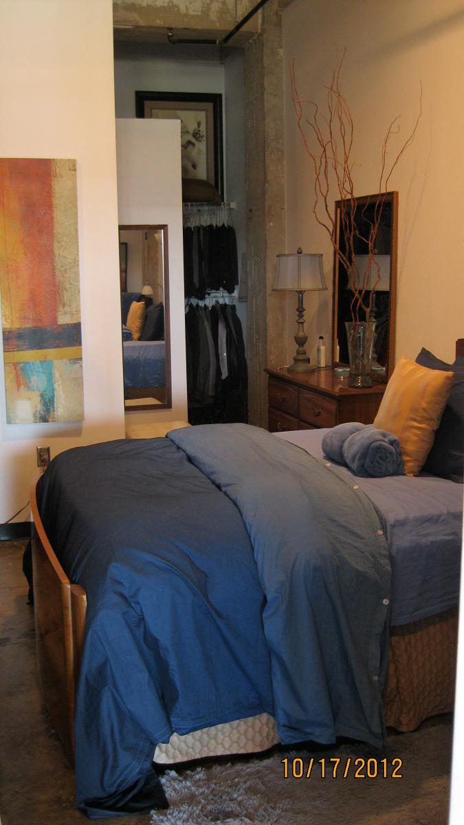 spacious bedrooms at  Phoenix Lofts Birmingham, AL 35203