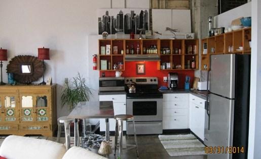 beautiful kitchen at  Phoenix Lofts Birmingham, AL 35203