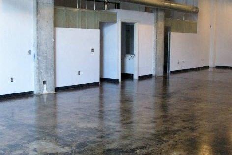 Polished concrete floors at  Phoenix Lofts Birmingham, AL 35203