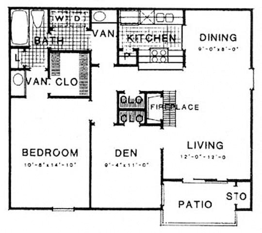 Texas Thistle Floor Plan 10