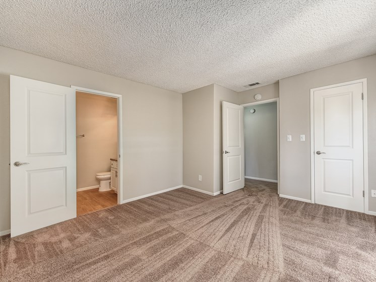 Master Bedroom with wall to wall carpet