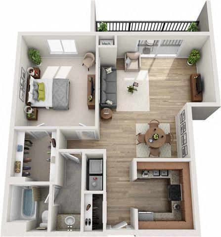 Lenox Floor Plan at Atler at Brookhaven, Atlanta, GA