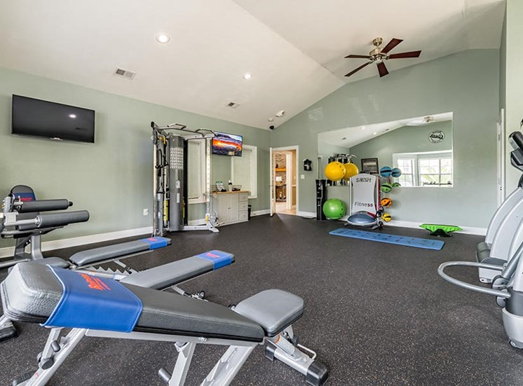 fitness center strength equipment