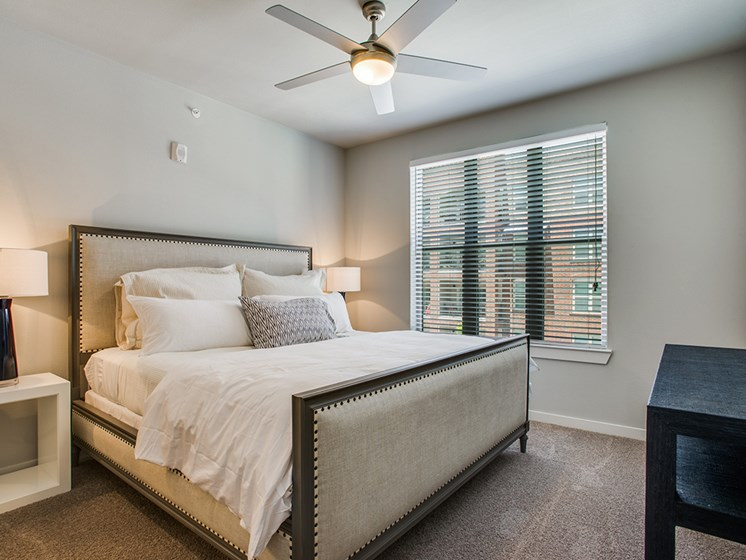 Bell Frisco Market Center apartments bedroom