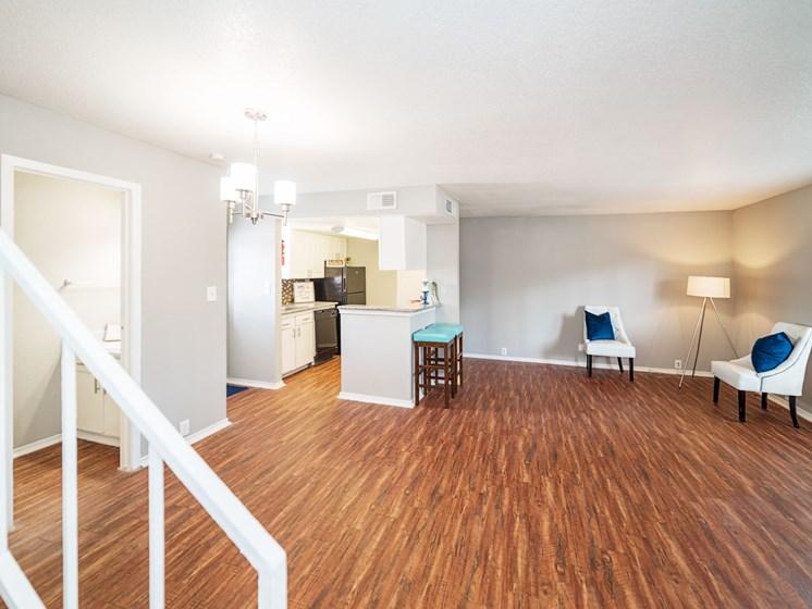 Spacious Living Room at The Alara, Texas, 77060