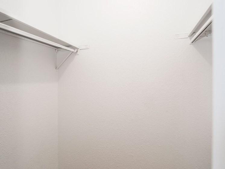 Large Closet at The Alara, Houston, Texas