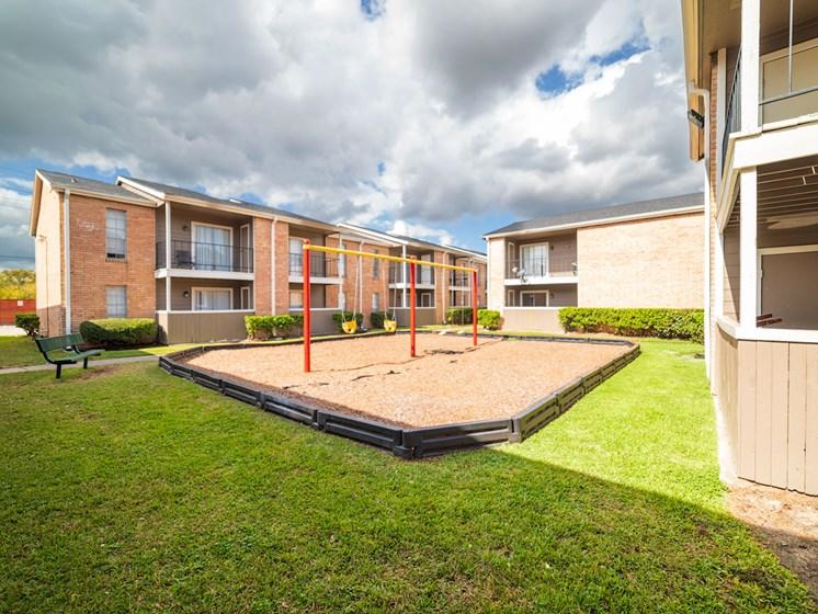 Green Space Plus Playground at The Alara, Houston, TX, 77060