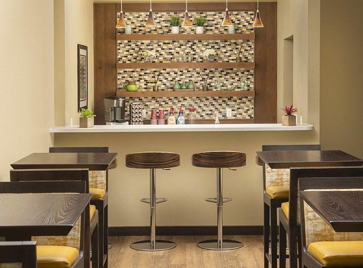 Rivergreens Apartments - Coffee Area