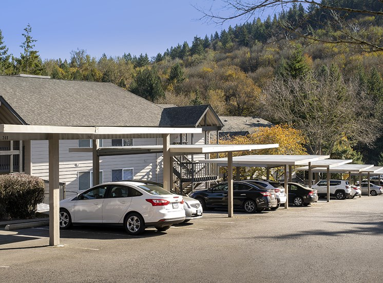 Creekside Apartments - Parking