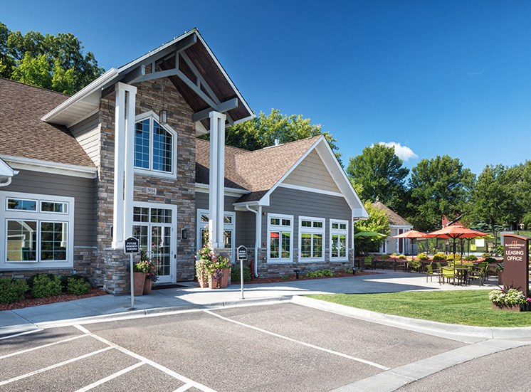 Bass Lake Hills Townhomes - Clubhouse Exterior