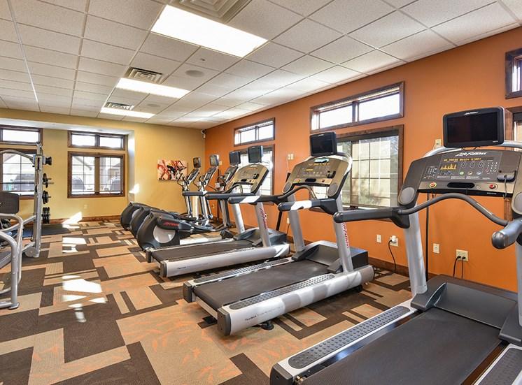 Bass Lake Hills Townhomes - Fitness Center
