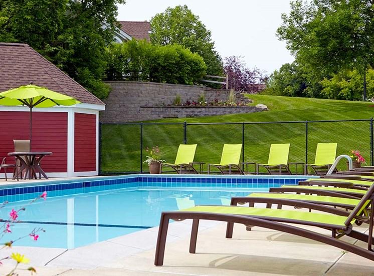 Bass Lake Hills Townhomes - Pool