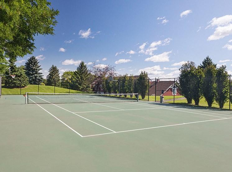 Bass Lake Hills Townhomes - Sport Court