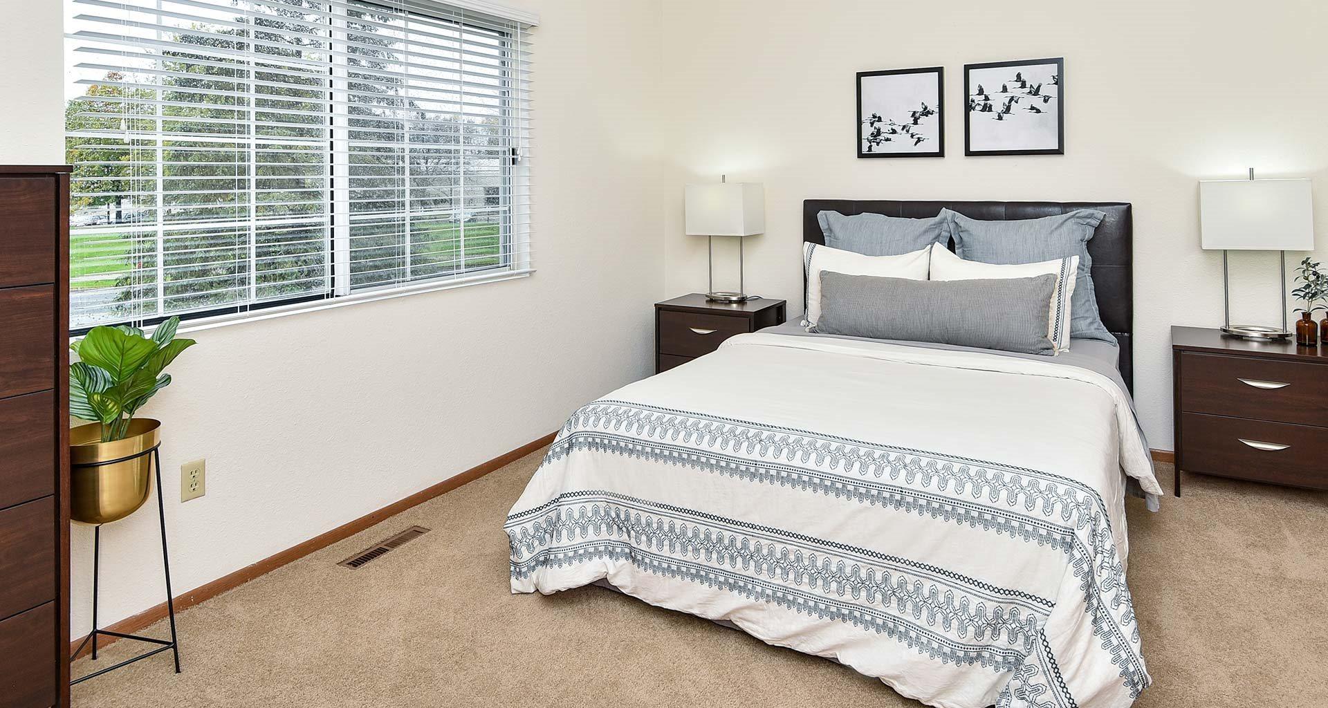 Birch Lake Townhomes Bedroom