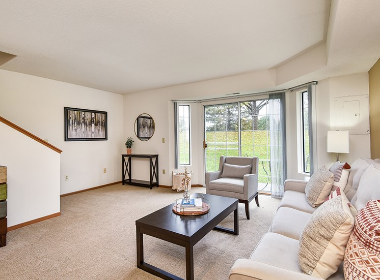 Birch Lake Townhomes - Living Room