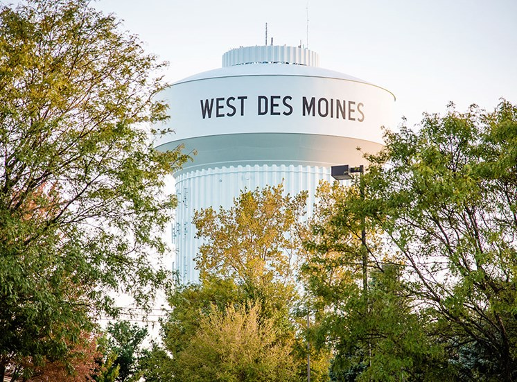 The Fountains - West Des Moines Water Tower