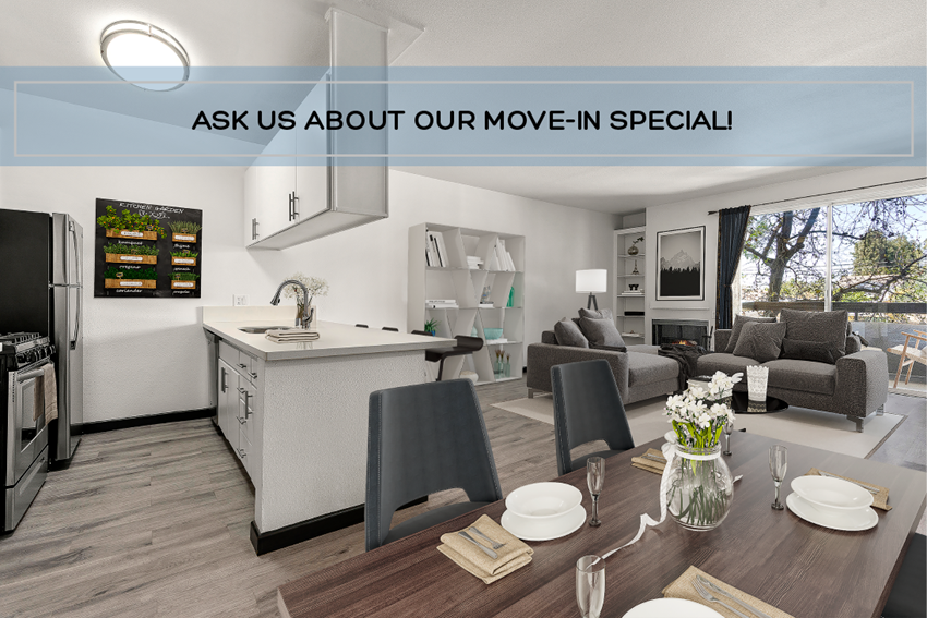 Ask us about our special