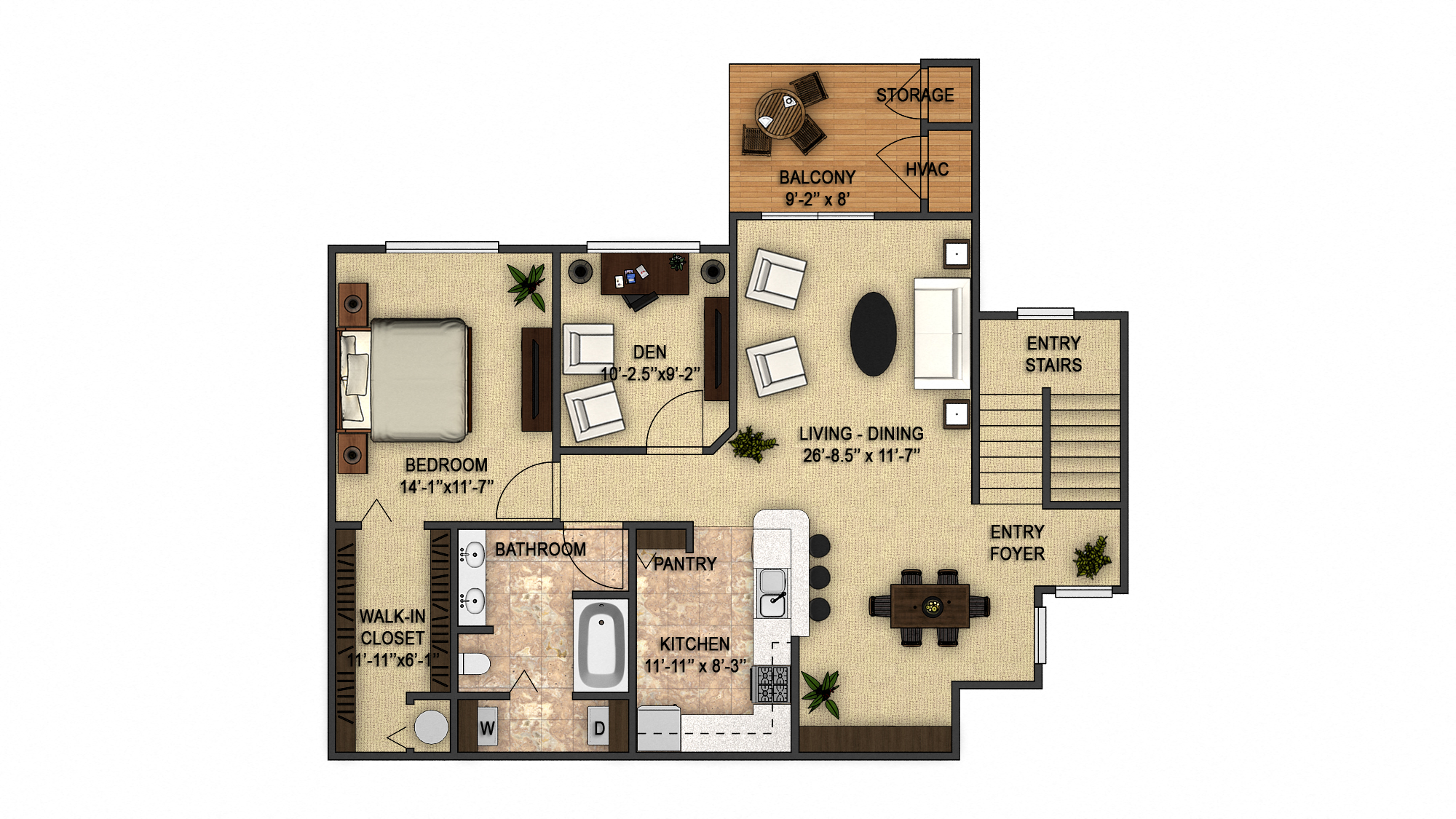 Birchwood 2nd Floor Floor Plan 4