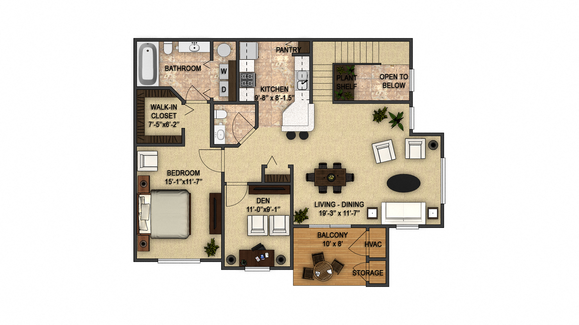 Cedarwood 2nd Floor Floor Plan 6