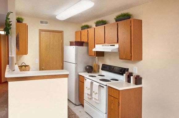 The Residences At Breckenridge Apartment kitchen